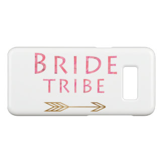 trendy pink bride tribe gold foil arrow design Case-Mate samsung galaxy s8 case
