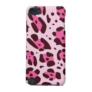 Trendy pink Leo Design iPod Touch (5th Generation) Cover