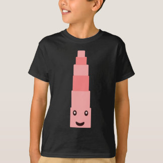 trendy Pink tower Monterssori T-Shirt