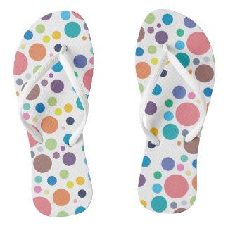 Trendy Polka Dot Flip Flop