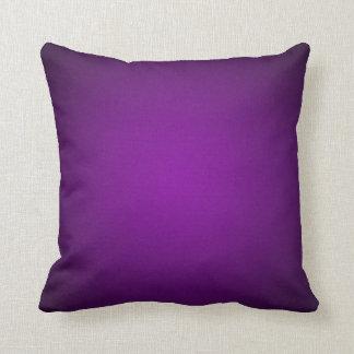 Trendy Purple-Black Grainy Vignette Cushion
