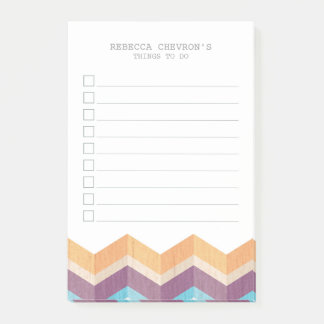 Shop to-do list post-it notes