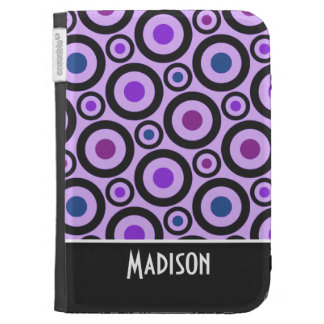 Trendy Purple Polka Dot Cases For The Kindle