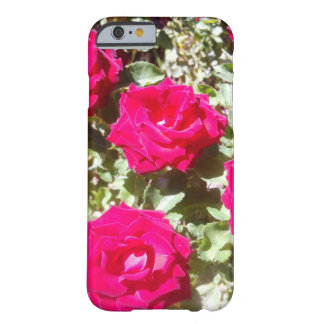 Trendy Red Roses IPhone 6, Barely There Barely There iPhone 6 Case