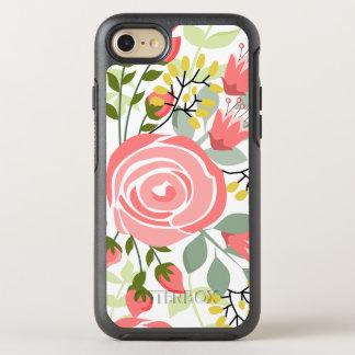 Trendy romantic floral OtterBox symmetry iPhone 8/7 case