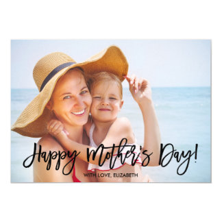 Trendy Script | Mother's Day Photo Card