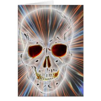 Trendy Skull Gothic Card