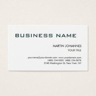 Trendy Slate Grey Black White Business Card