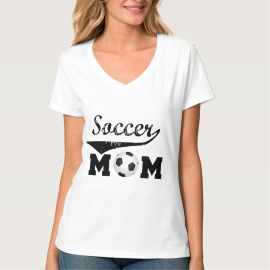 Trendy soccer mum tshirt