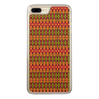 Trendy stylish abstract pattern carved iPhone 8 plus/7 plus case