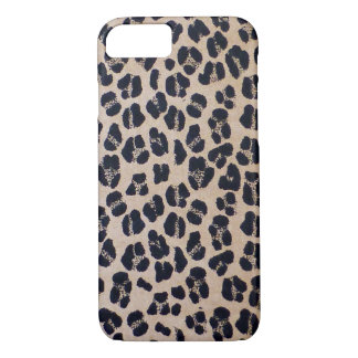 Trendy Stylish Leopard Print, iPhone 7 Case
