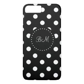 Trendy Stylish Monogram Design iPhone 8 Plus/7 Plus Case