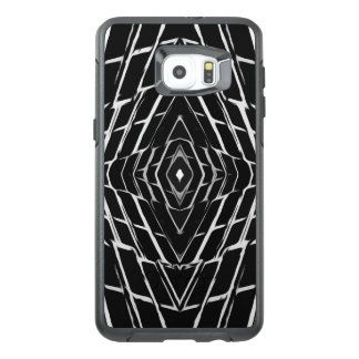 Trendy Stylish Unique Black/White Design OtterBox Samsung Galaxy S6 Edge Plus Case
