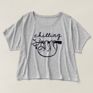 "Trendy T-shirt ""CHILLING """