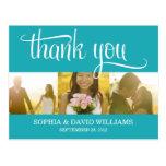 TRENDY THANKS | WEDDING THANK YOU CARD