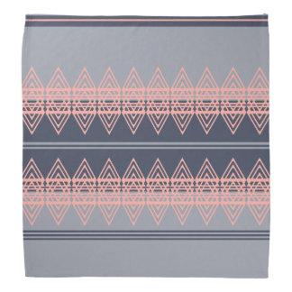 Trendy Tribal Chevron Pattern Geometric Design Art Bandana