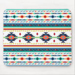 trendy tribal ethnic Navajo geometric pattern Mouse Pad