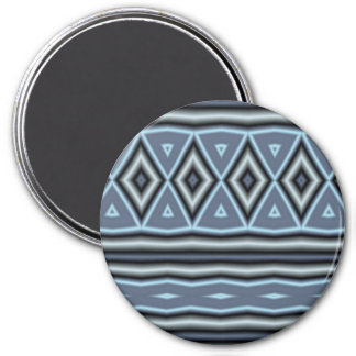 Trendy tribal pattern refrigerator magnets