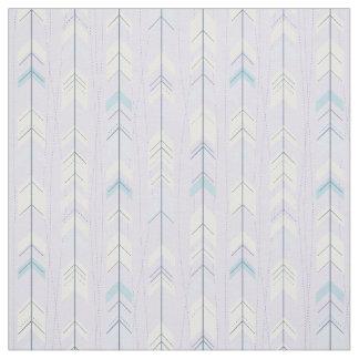 Trendy Tribal Purple Arrow Tail Native American Fabric