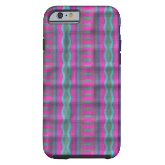 Trendy vertical pattern tough iPhone 6 case
