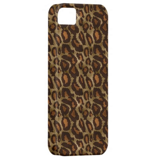 Trendy Vintage Leopard Print Pattern iPhone 5 iPhone 5 Cover
