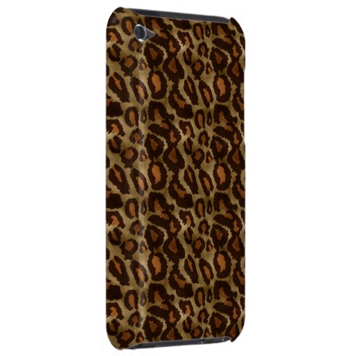 Trendy Vintage Leopard Print Pattern iPod Touch iPod Touch Case-Mate Case