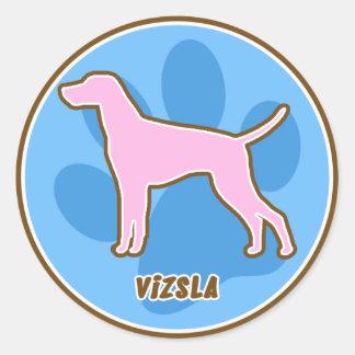 Trendy Vizsla Stickers