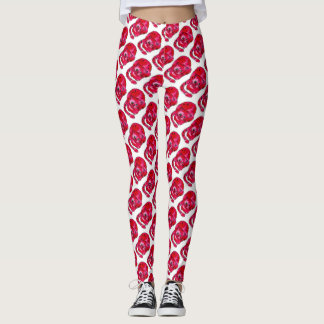 Trendy Watercolor Cat Lover Leggings