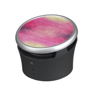Trendy Watercolor Pink Vintage Arrow Pattern Speaker