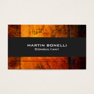 Trendy Yellow Abstract Grey Plain Clean Business Card