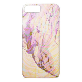 Trendy Yellow And Purple Marble Stone iPhone 8 Plus/7 Plus Case