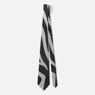 Trendy Zebra Animal Print Pattern created by Imagi Tie