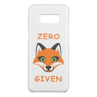 Trendy Zero Fox Given phrase Emoji Cartoon Case-Mate Samsung Galaxy S8 Case