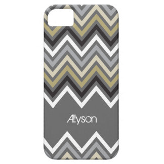 Trendy Zig Zag Chevron Pattern iPhone 5 CaseMate Case For The iPhone 5