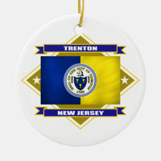Trenton Diamond Ornament