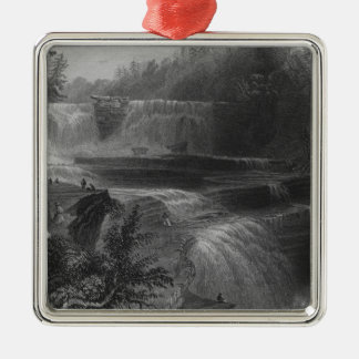 Trenton High Falls, 1838 Christmas Ornament