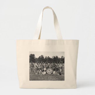 Trenton N.J. Military Band: early 1900s Canvas Bags
