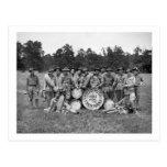 Trenton N.J. Military Band: early 1900s Postcard