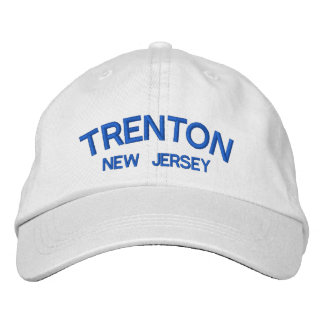 Trenton New Jersey Embroidered Hat