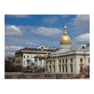 Trenton State Capitol Postcard