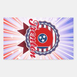 Trenton, TN Rectangle Sticker