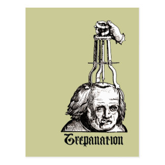 Trepanation Postcard