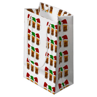 Tres Amigos Christmas Cerveza Small Gift Bag