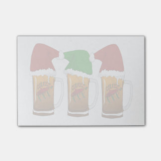 Tres Amigos Christmas Cerveza Post-it® Notes