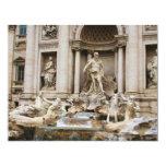 "Trevi Fountain 4.25"" X 5.5"" Invitation Card"