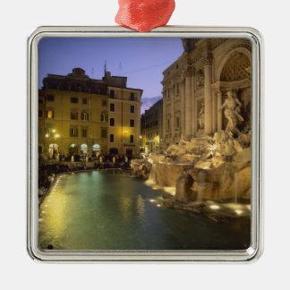 Trevi Fountain at night, Rome, Lazio, Italy Christmas Ornament