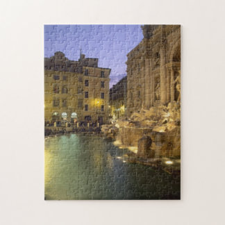 Trevi Fountain at night, Rome, Lazio, Italy Jigsaw Puzzle