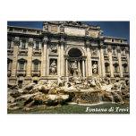Trevi Fountain, Fontana di Trevi, Rome, Italy Post Card