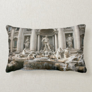 Trevi Fountain (Fontana di Trevi) -Rome Lumbar Pillow