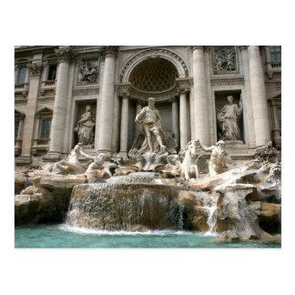 Trevi Fountain (Fontana di Trevi) -Rome Postcard